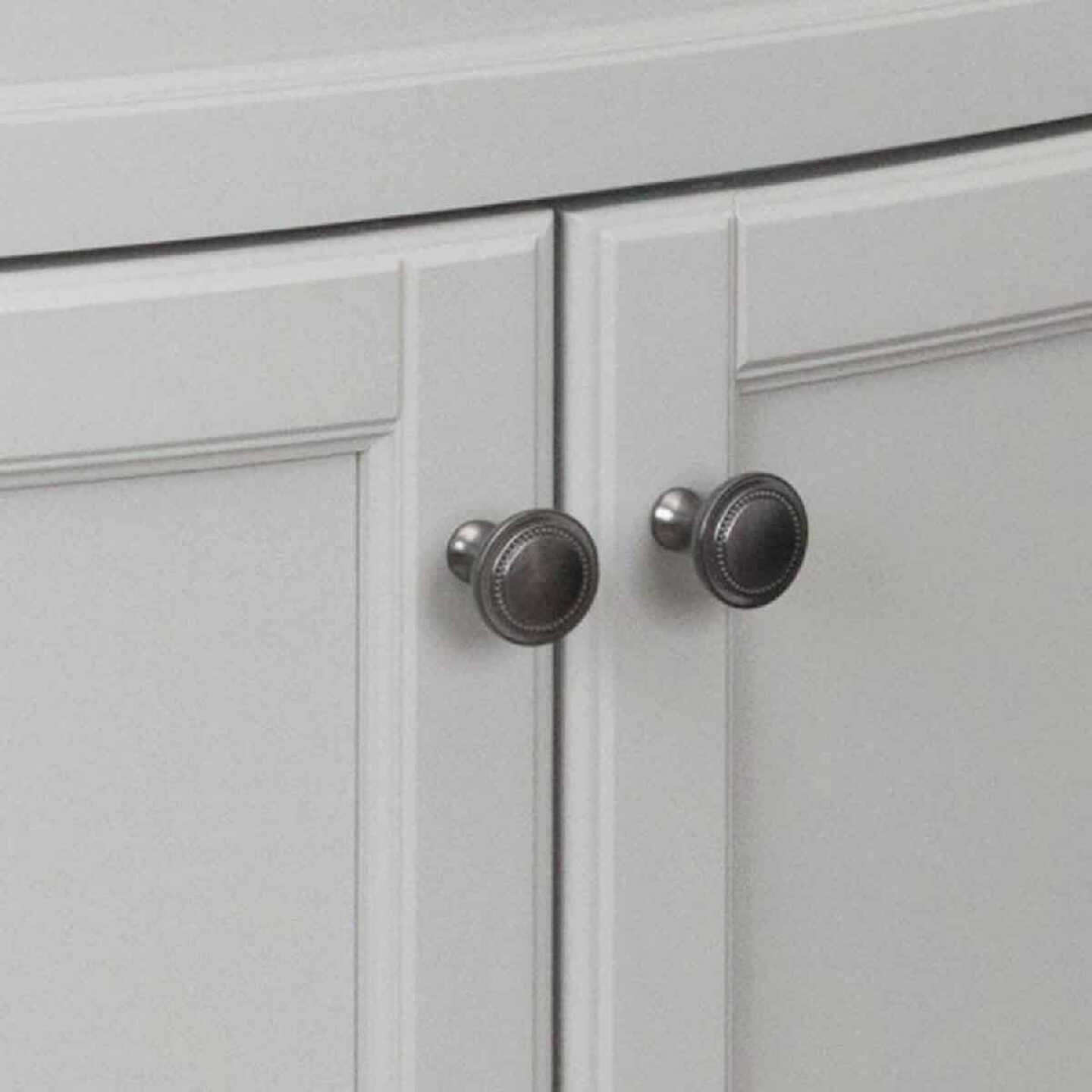 Continental Cabinets Duval Gray 30-1/2 In. W x 34-3/8 In. H x 18-3/4 In. D Vanity with Arctic White Top Image 5