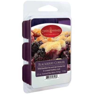 Candle Warmers 2.5 Oz. Blackberry Cobbler Wax Melt