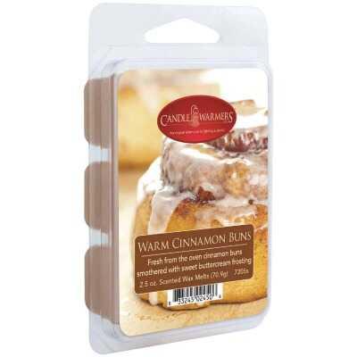 Candle Warmers 2.5 Oz. Warm Cinnamon Buns Wax Melt