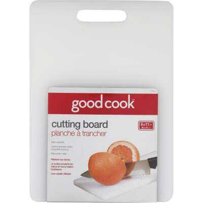 Goodcook 8 In. x 11 In. White Cutting Board