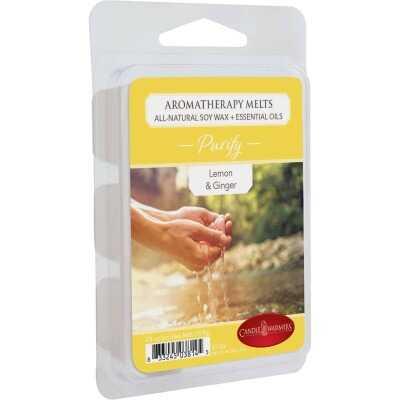 Candle Warmers Purify Lemon & Ginger Aromatherapy Wax Melt