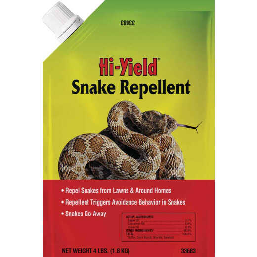 Hi-Yield 4 Lb. Granular Snake Repellent