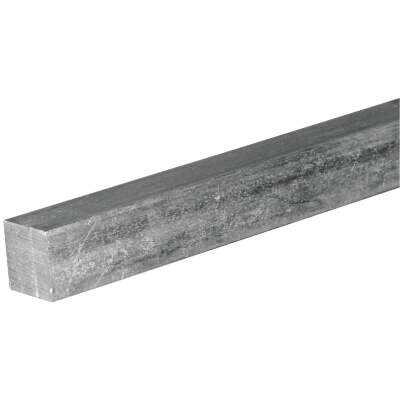 HILLMAN Steelworks 1/4 In. x 1 Ft. Zinc-Plated Steel Solid Square Key Stock