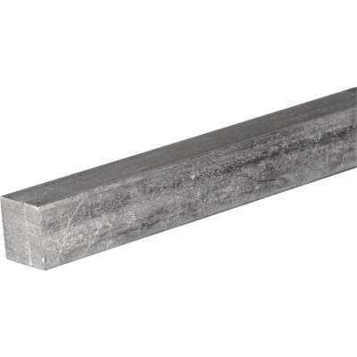 HILLMAN Steelworks 5/16 In. x 1 Ft. Zinc-Plated Steel Solid Square Key Stock