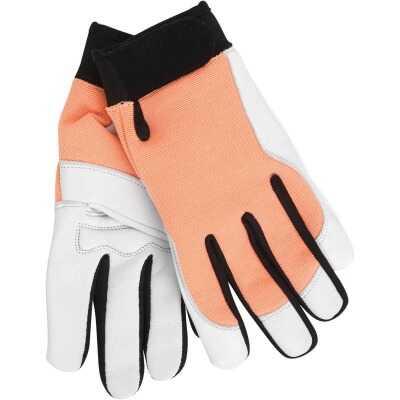 Midwest Gloves & Gear Women's Medium Goatskin Leather Work Glove