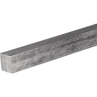 HILLMAN Steelworks 1/8 In. x 1 Ft. Zinc-Plated Steel Solid Square Key Stock