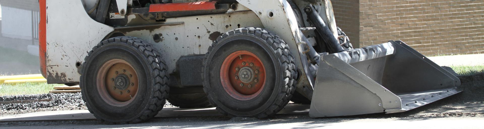 skid loader rental equipment image